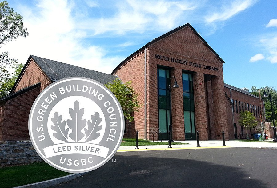 South Hadley Library, LEED Silver Certified