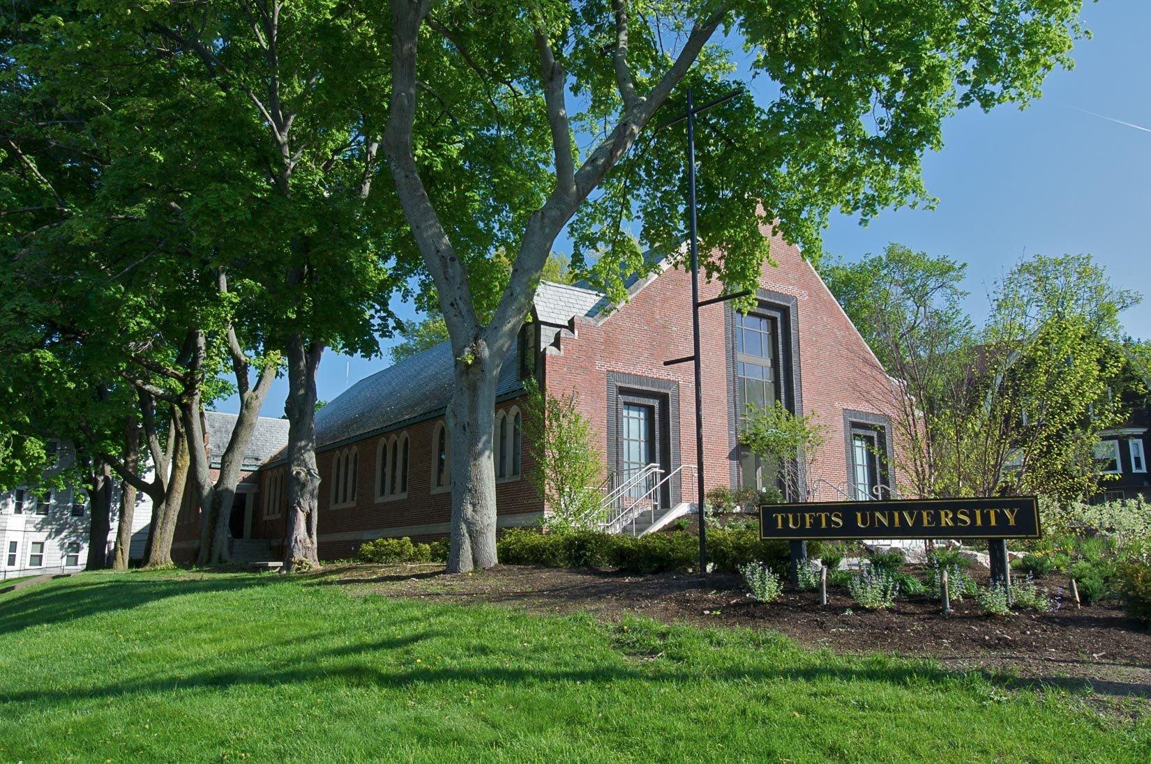 Tufts University, Campus Meeting Center, Exterior view