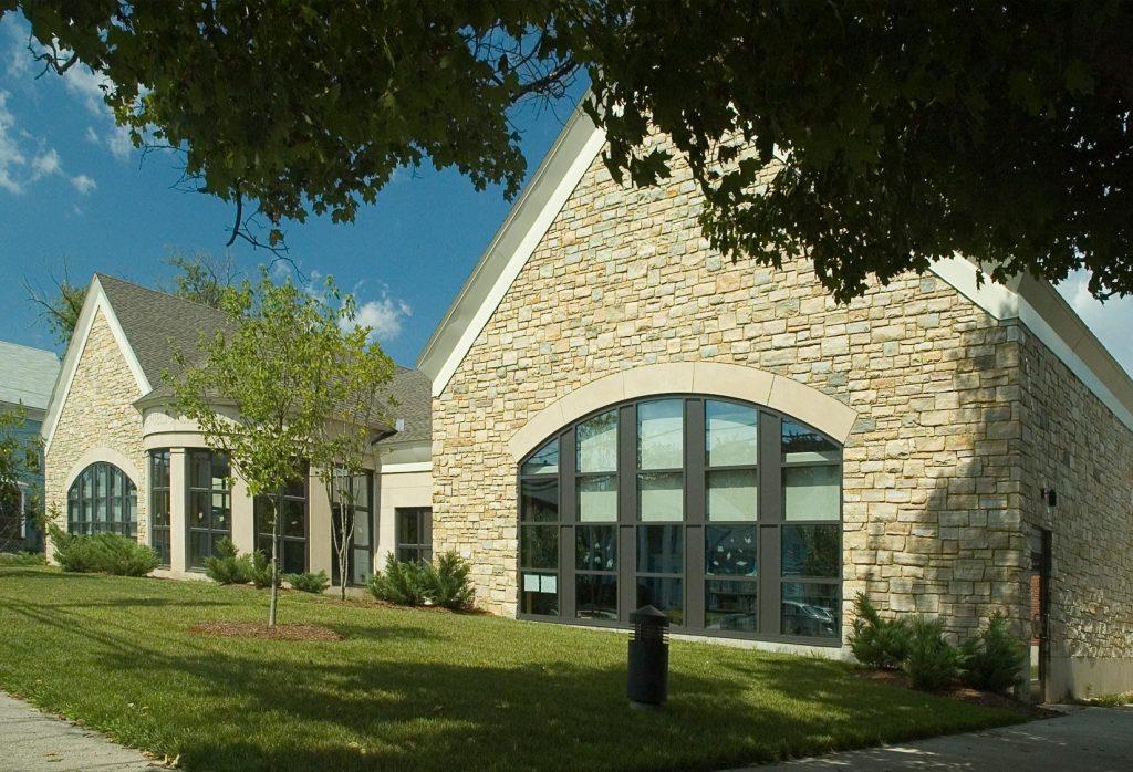 Blackstone Public Library, Front Exterior view