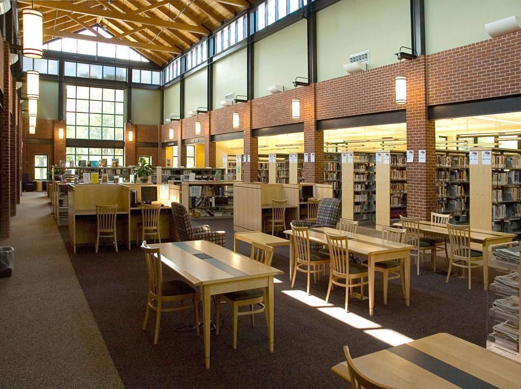 Blackstone Public Library, Reading room