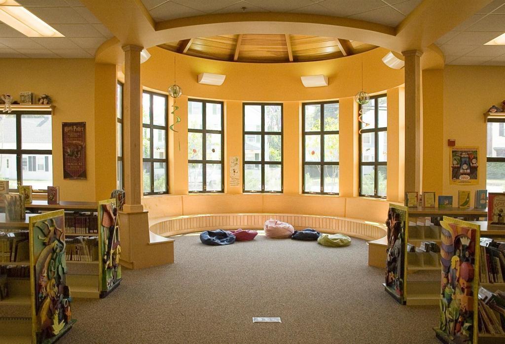 Blackstone Public Library, Story room