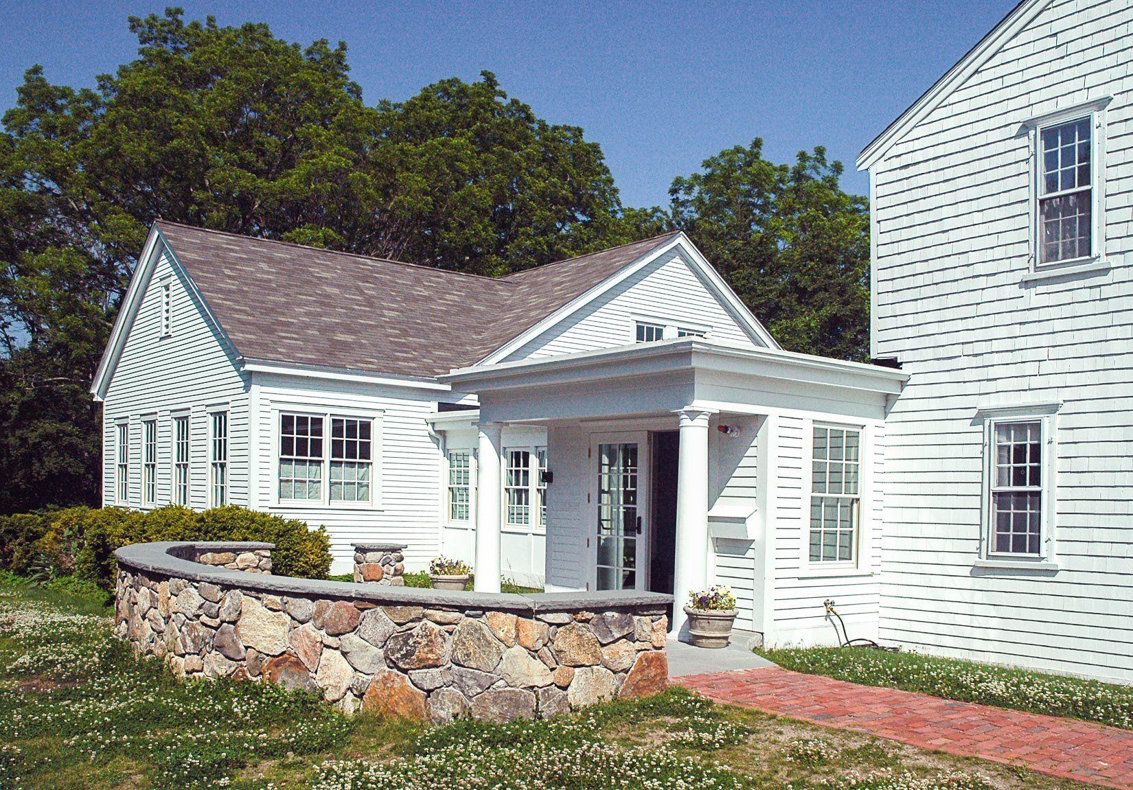 First Parish of Cohasset, Unitarian Universalist Church Fellowship Hall, Exterior view