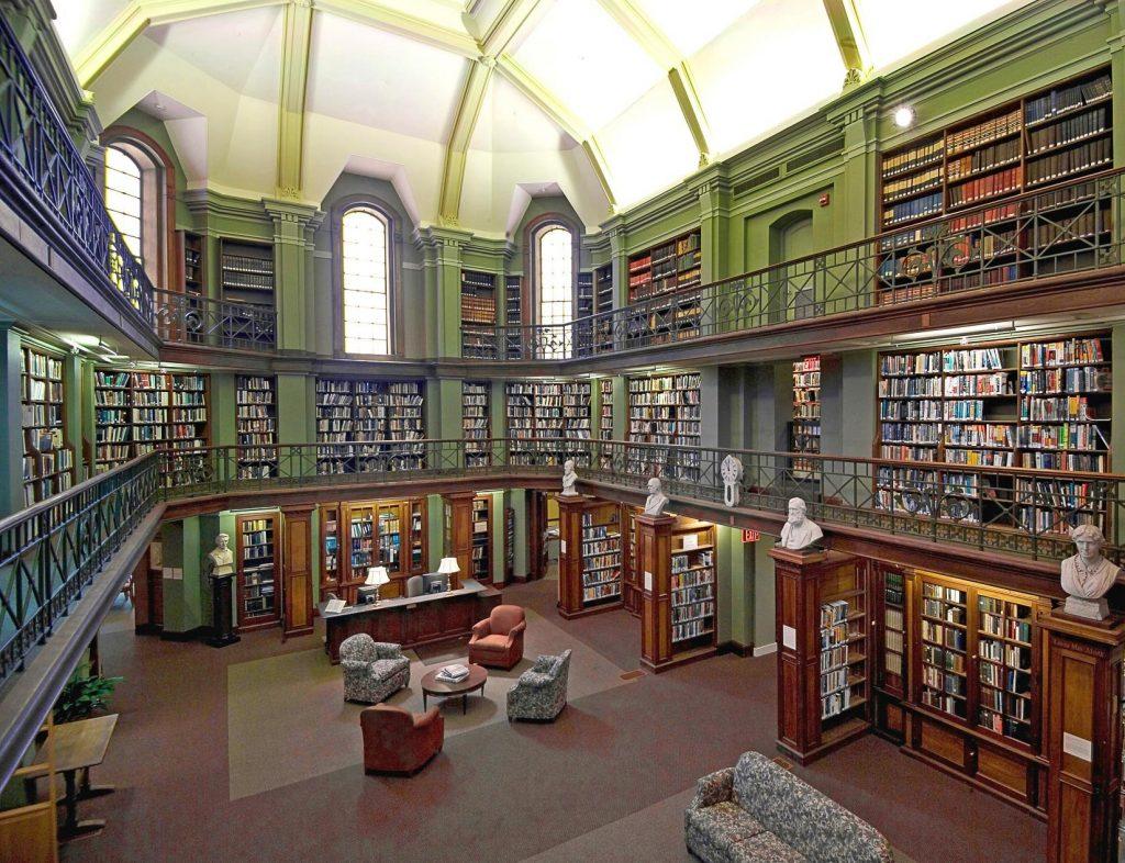 Concord Free Public Library, Artrium