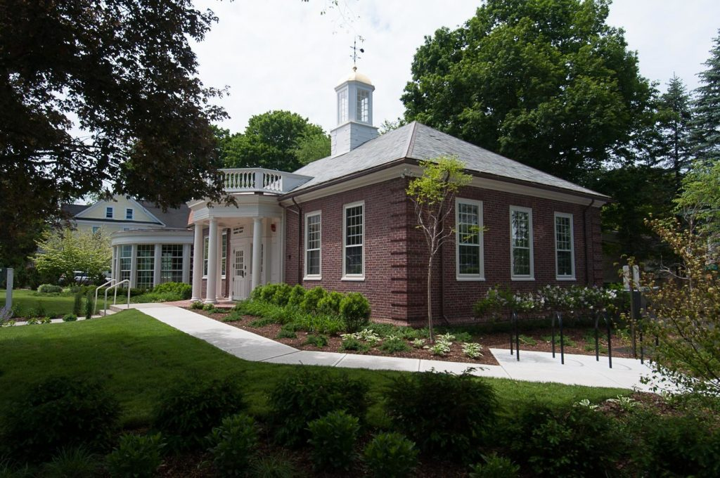 Concord Fowler Library, Exterior view