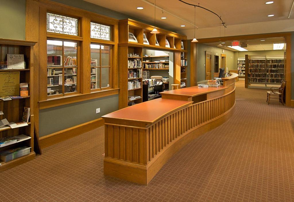 Haston Free Public Library, Circulation Desk