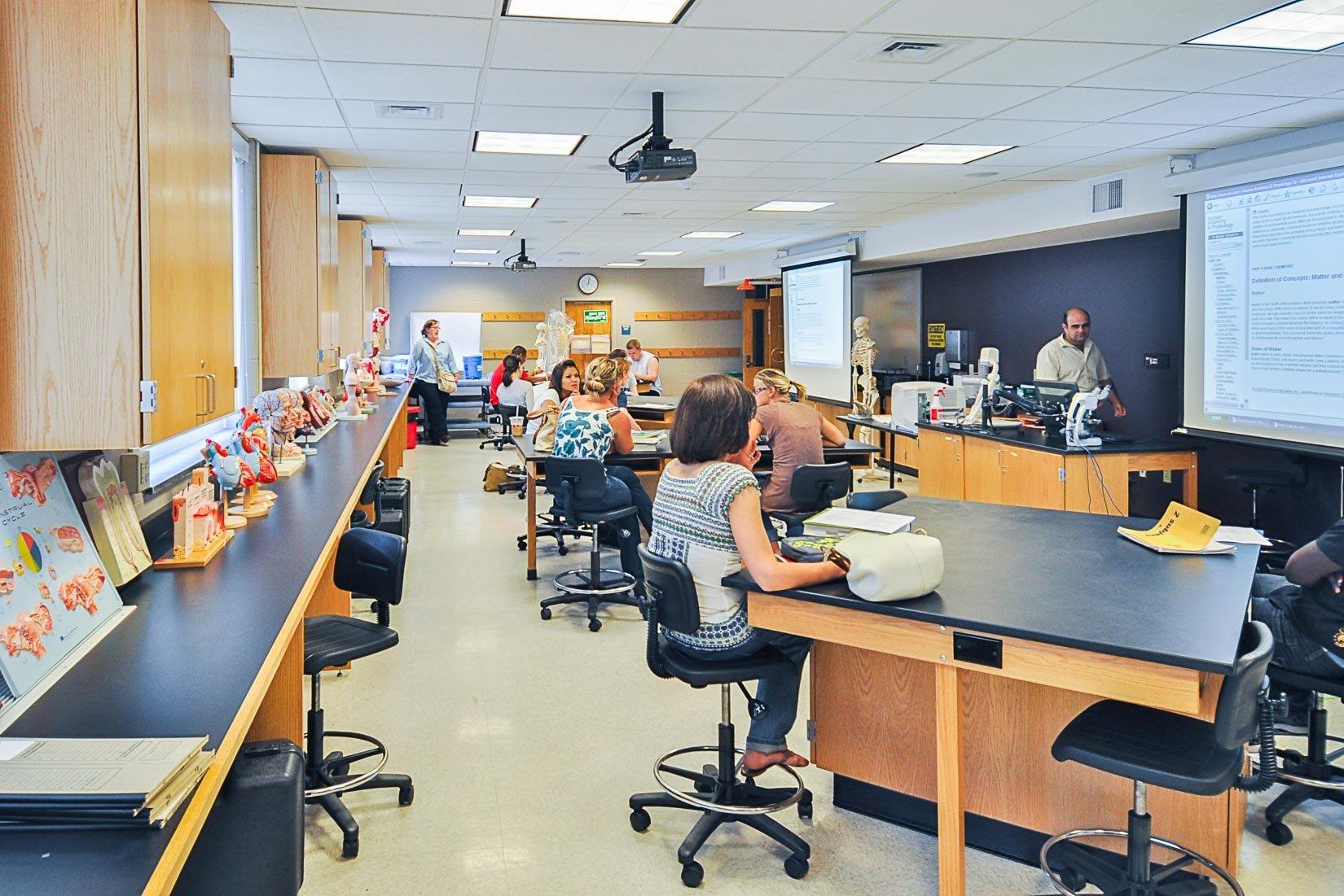 Quinsigamond Community College, Anatomy Lab