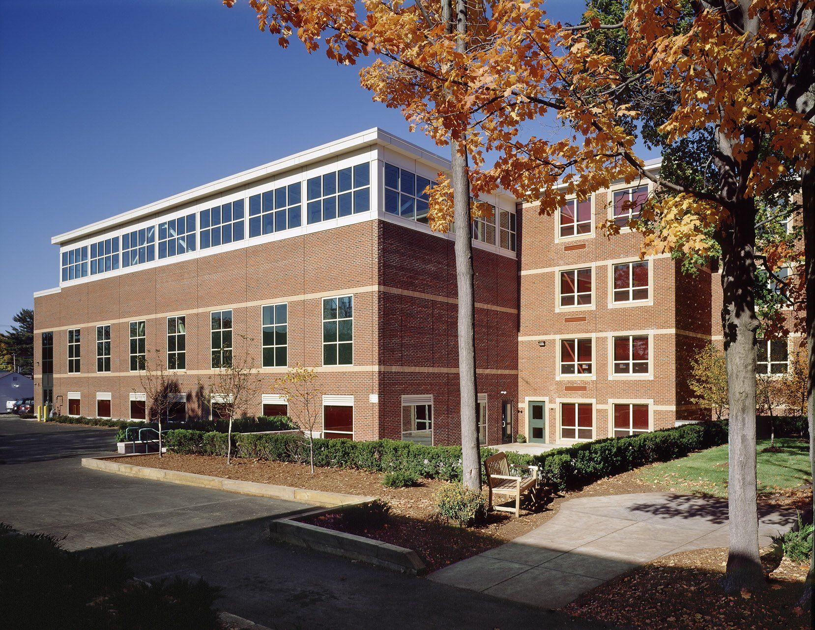 St. Joseph's Elementary School, Exterior view