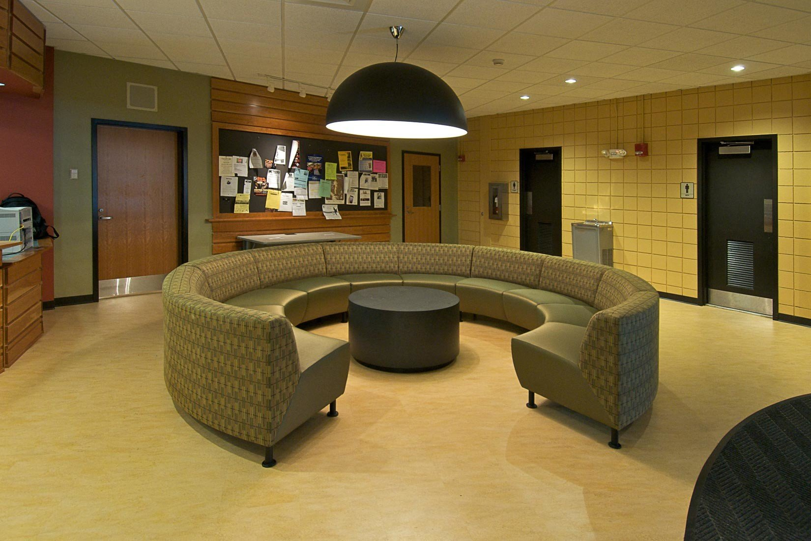 Worcester State University, Learning Resources Center, Lobby