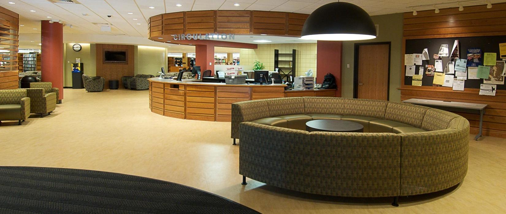 Worcester State University, Learning Resource Center, Lobby