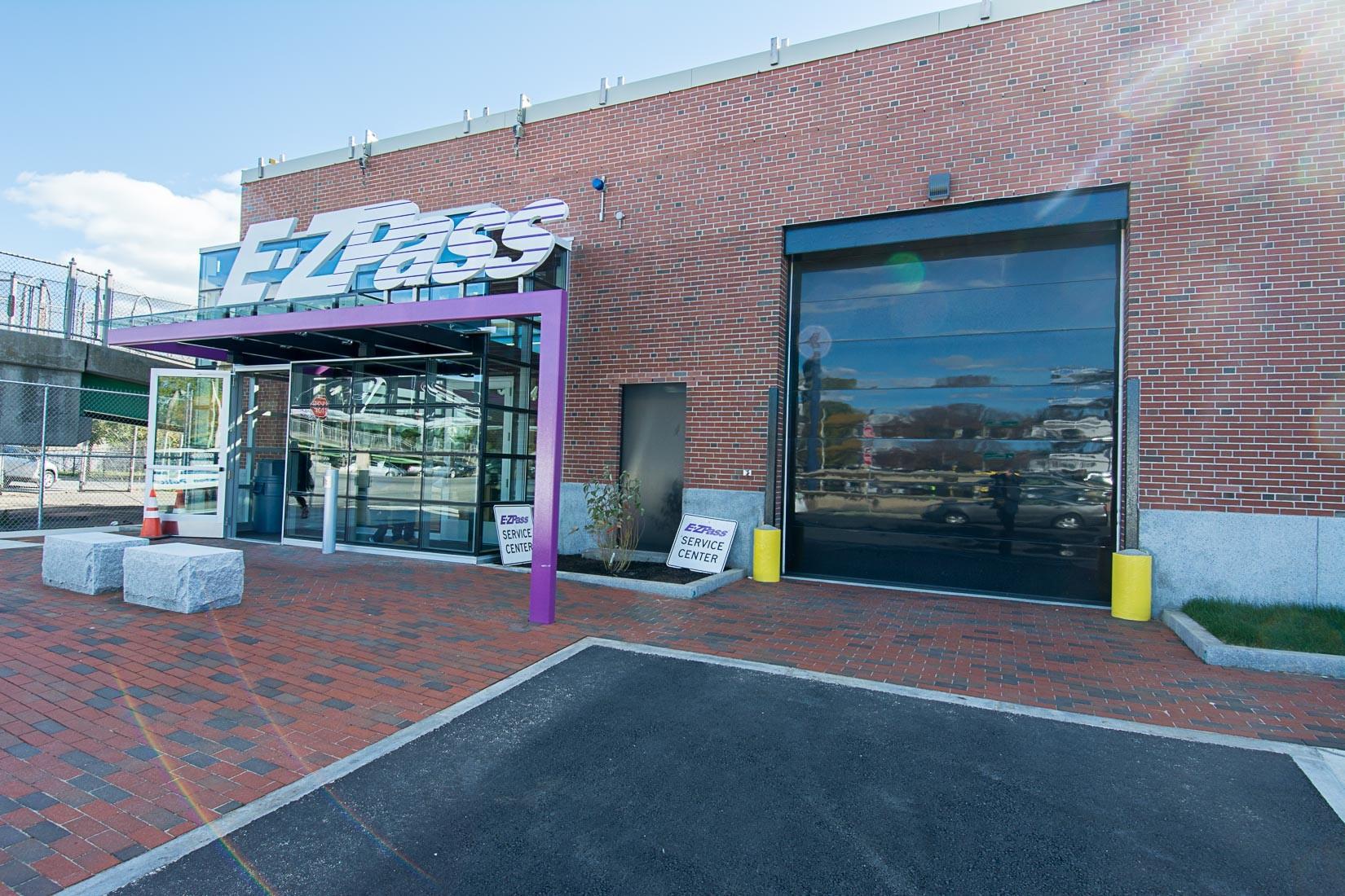 front view of ezpass service center