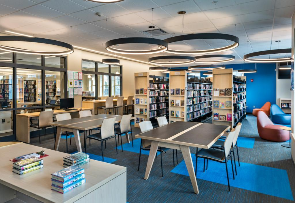 Hopkinton Public Library, Circulation Desk