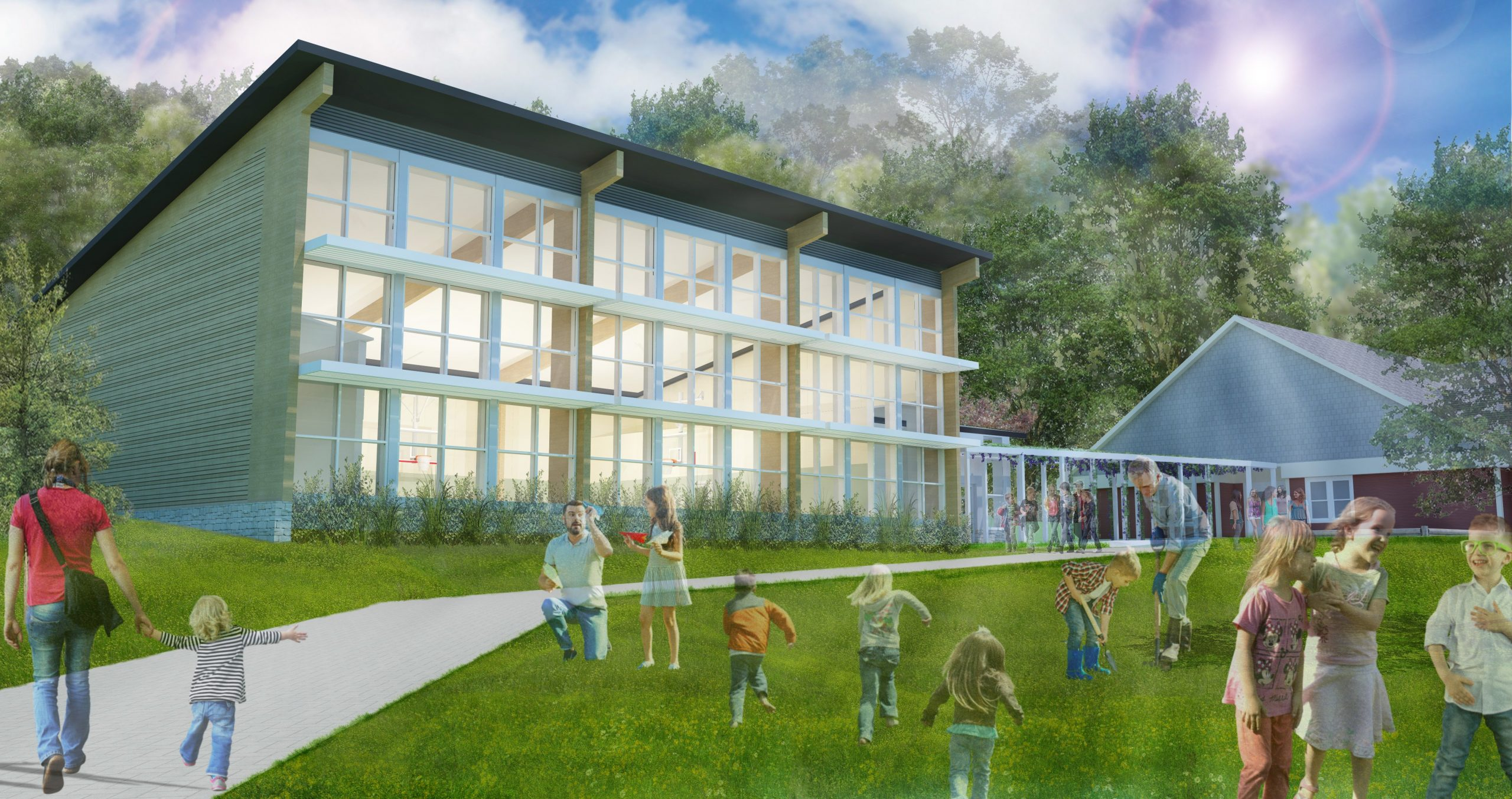 Touchstone Community School, Rendering