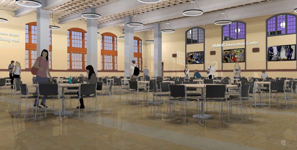 John Bapst Memorial High School, Dining Hall Rendering